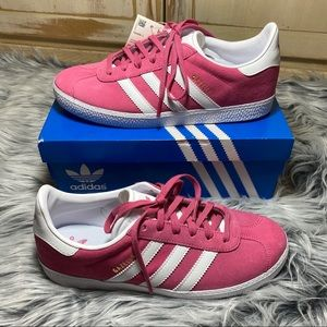 NEW Adidas Gazelle Pink Suede Shoes
